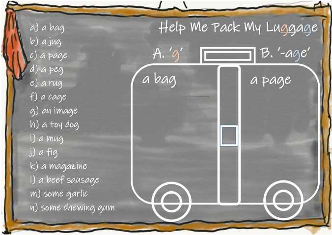 Help Me Pack My Luggage -1